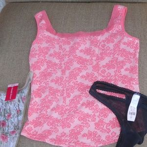 Ariane Tops - Coral camisole top